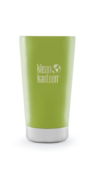 Klean Kanteen Tumbler Drinkfles Vacuum Insulated 473ml with Lid groen